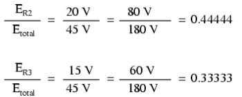 voltage drop ratios equation 2