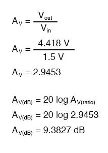 voltage gain equation1