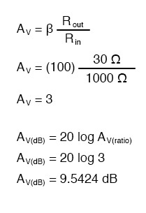 voltage gain equation2