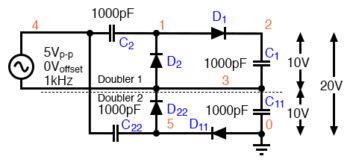 voltage quadrupler