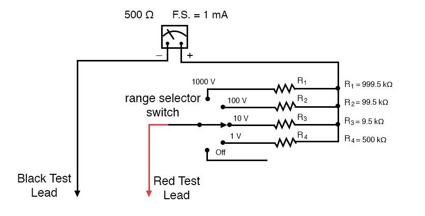 voltmeter example
