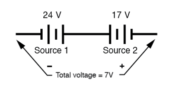 voltmeter reading per test lead connection image5