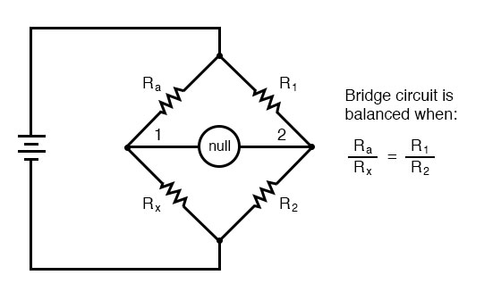 wheatstone bridge example
