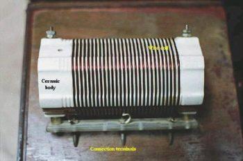 white ceramic connection terminals