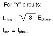 line voltage will be equal to the phase voltage times the square root of 3