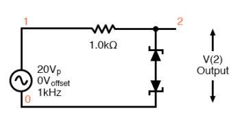 zener diode clipper