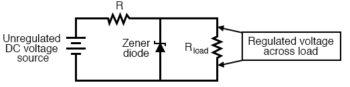 zener diode voltage regulator