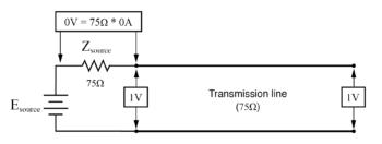 voltage measured between node image1