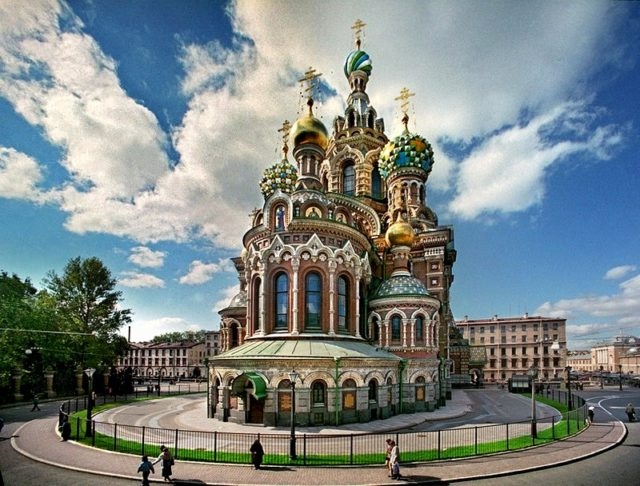 3. church of our savior on the spilled blood in st petersburg