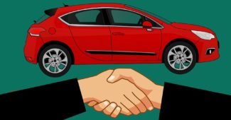 shake hand buy car deal