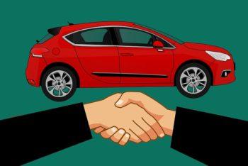 shake hand buy car deal