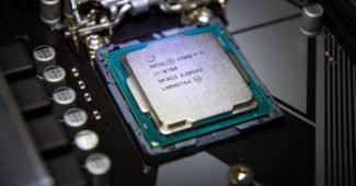 une intel processeur
