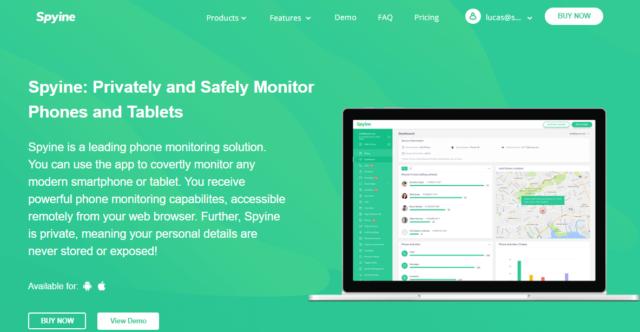 spyine homepage