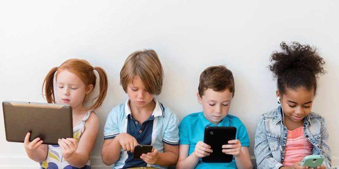 tech and children